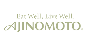 Ajinomoto - eat well, live well logo