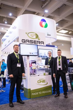 Gasera Booth at Photonics West 2017 in san Francisco