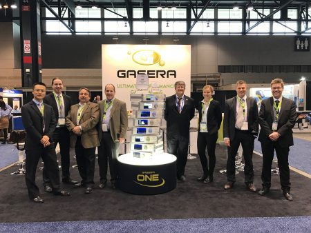 Gasera Booth at Pittcon 2017 in Chicago