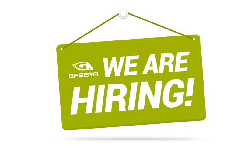 Gasera - we are hiring
