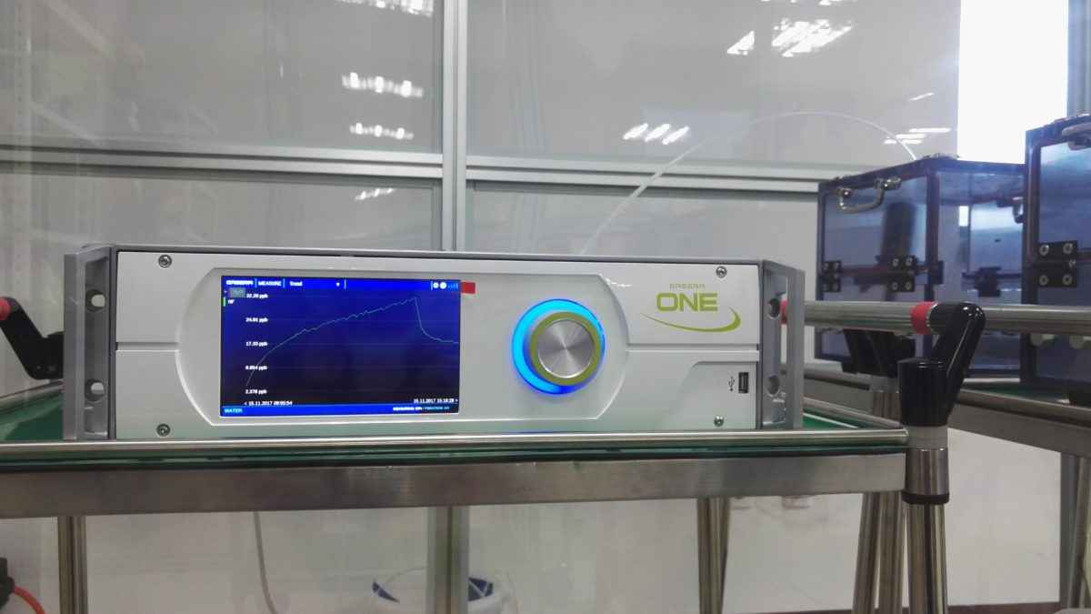 Testing the GASERA ONE HF in South Korea