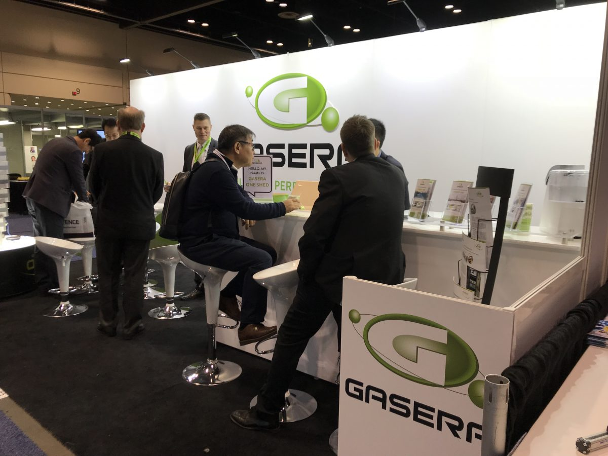 Gasera booth #3173 at Pittcon 2018