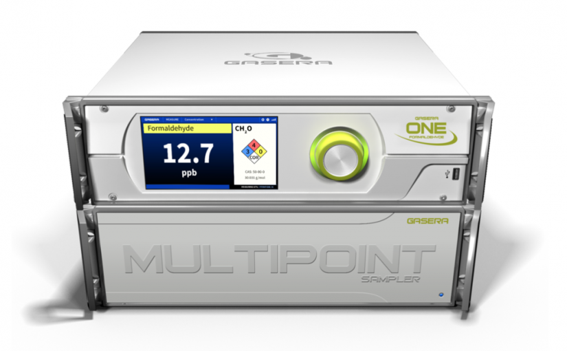 GASERA ONE FORMALDEHYDE in connection with MULTIPOINT SAMPLER