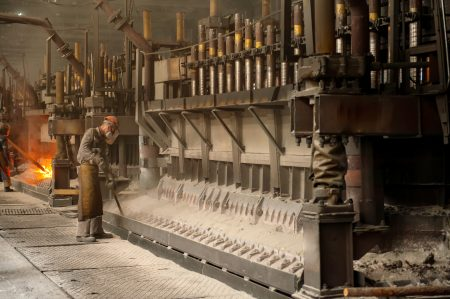 Aluminium smelters present potential for high emissions of HF